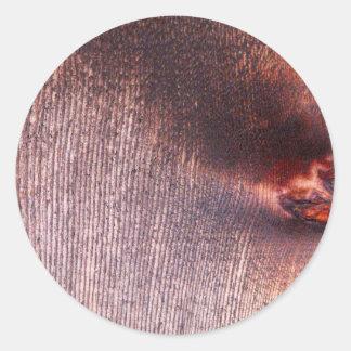 Painel de madeira adesivos redondos
