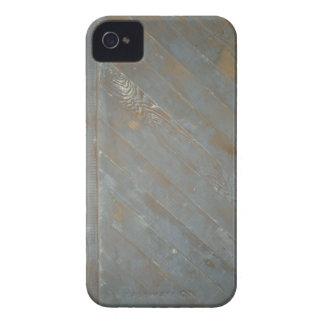 Painel de madeira velho capinha iPhone 4
