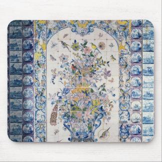 Painel do azulejo de Delft do banheiro Mouse Pad