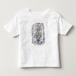 Painel do azulejo de Delft do banheiro T-shirt