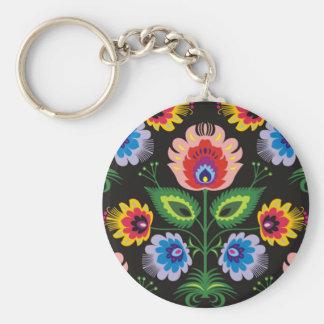 painel do imagem floral chaveiro