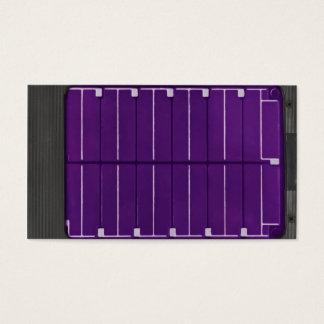 painel solar elétrico cartão de visitas