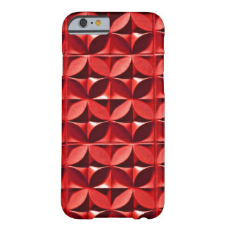 Painel vermelho capa barely there para iPhone 6