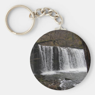 País da cachoeira em wales, balizas de Brecon Chaveiros