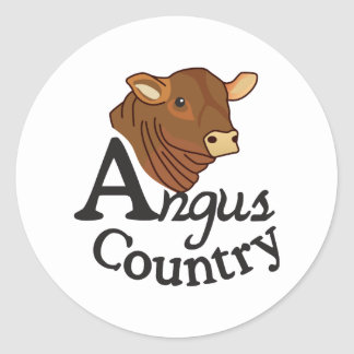 País de Angus Adesivo