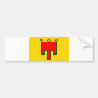 País de france da região francesa da bandeira de A Adesivo Para Carro