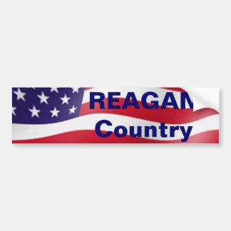 País de Reagan Adesivo Para Carro