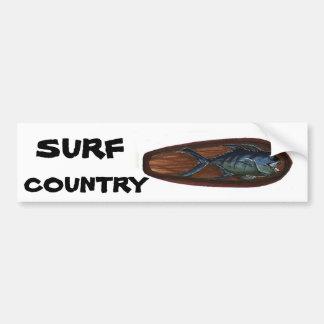 PAÍS do SURF de Ulua Adesivo Para Carro