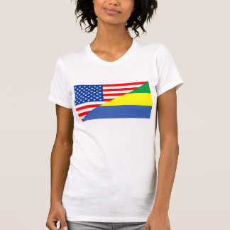 país dos EUA da bandeira de Estados Unidos América Camiseta