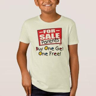 Pais para a venda camiseta