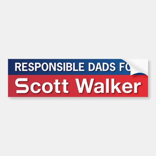 Pais para o caminhante de Scott Adesivos