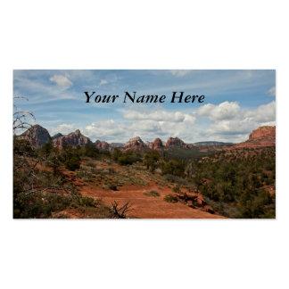 Paisagem americana do sudoeste cartão de visita