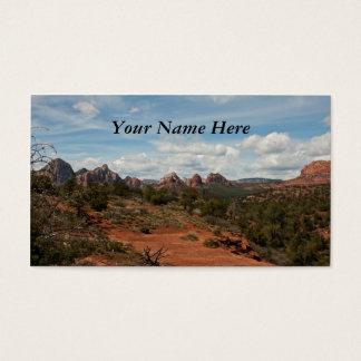 Paisagem americana do sudoeste cartão de visitas