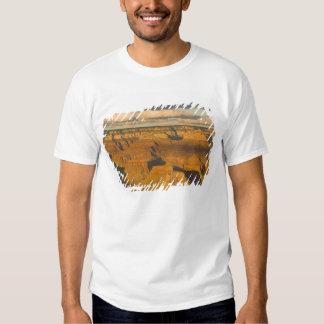 Paisagem cénico da borda sul do grande t-shirt