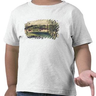 Paisagem com um pescador, depois de 1886 camiseta