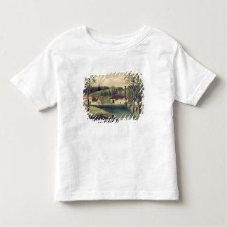 Paisagem com um pescador, depois de 1886 t-shirts