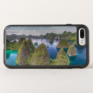 Paisagem da ilha de Wayag, Indonésia Capa Para iPhone 8 Plus/7 Plus OtterBox Symmetry