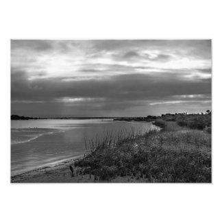 Paisagem da prata esterlina, Florida Impressão De Foto