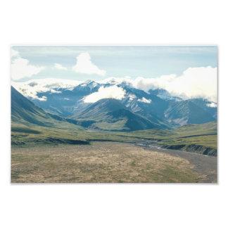 Paisagem de Alaska - impressão da foto da luz | Impressão De Foto