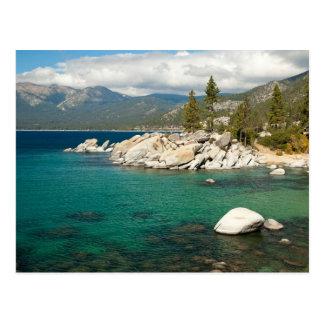 Paisagem de Lake Tahoe Cartão Postal