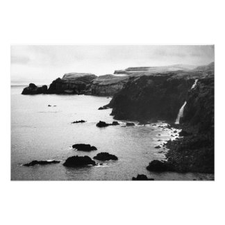 Paisagem litoral de Açores Artes De Fotos