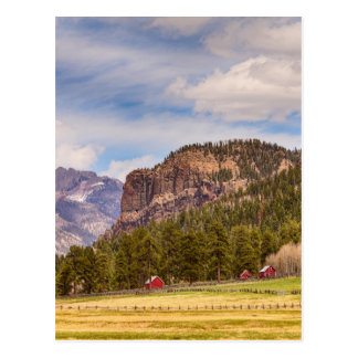 Paisagem ocidental de Colorado Cartão Postal