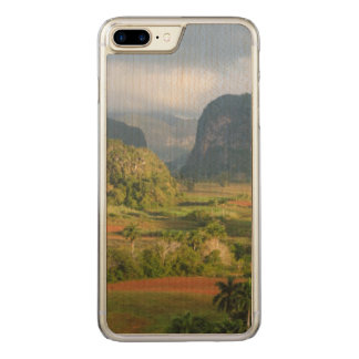 Paisagem panorâmico do vale, Cuba Capa iPhone 8 Plus/ 7 Plus Carved