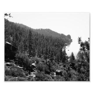 Paisagem preto e branco 17 impressão de fotos