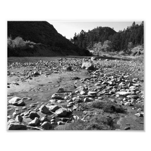 Paisagem preto e branco 3 arte de fotos