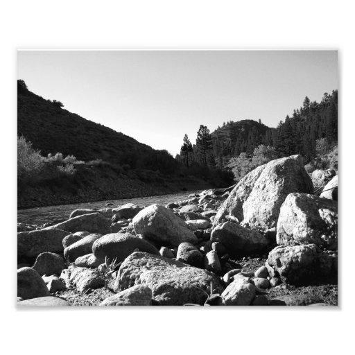 Paisagem preto e branco 4 impressão de foto