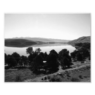 Paisagem preto e branco 6 impressão de foto