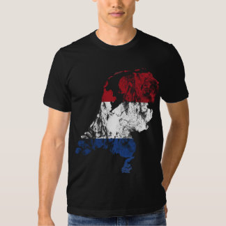 Países Baixos afligiram a camisa Camiseta