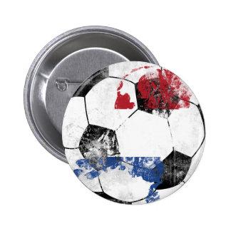 Países Baixos afligiram o futebol Botons