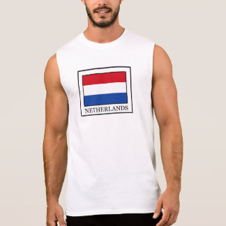 Países Baixos Camiseta Sem Manga