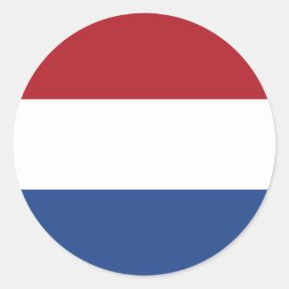 Países Baixos/Holland/bandeira holandesa/holandesa Adesivo