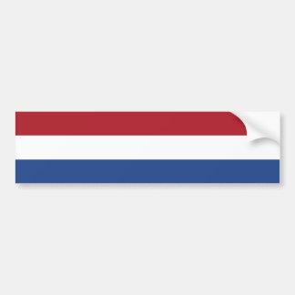 Países Baixos/Holland/bandeira holandesa/holandesa Adesivos