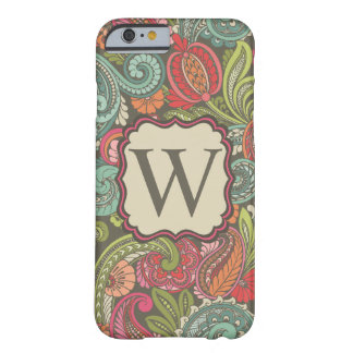 Paisley Cyngalese Capa Barely There Para iPhone 6