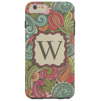 Paisley Cyngalese Capas iPhone 6 Plus Tough