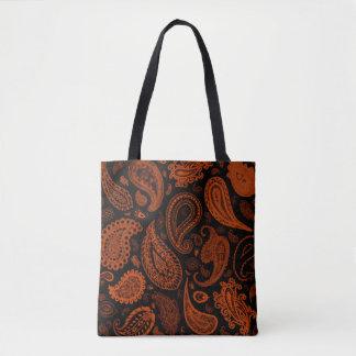 Paisley no bolsa do desenhista da oxidação por