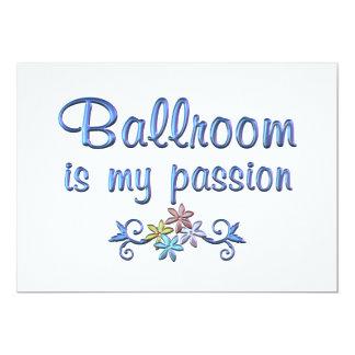 Paixão do salão de baile convite personalizado