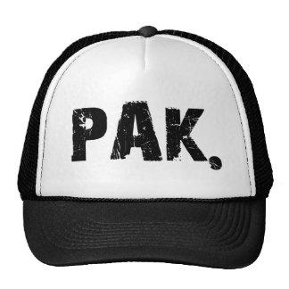 PAK. Chapéu do logotipo Boné