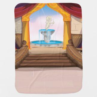 Palácio árabe cobertores para bebe