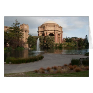 Palácio das belas artes cartão comemorativo
