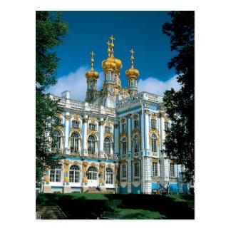 Palácio de Catherines da rua Cartão Postal