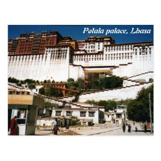 Palácio de Potala, Lhasa, cartão