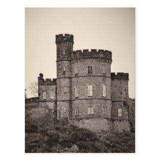 Palácio do castelo de Edimburgo - cartão
