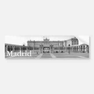 Palacio real, Madrid Adesivo Para Carro