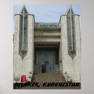 Palácio soviético do casamento, Bishkek Frunze, Pôster