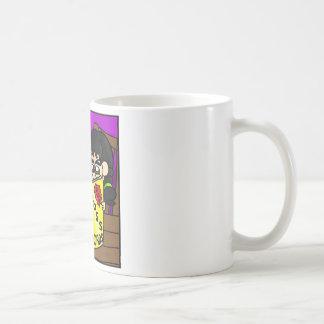 Palavras cruzadas caneca de café