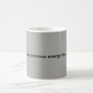 palavras da caneca de café da sabedoria